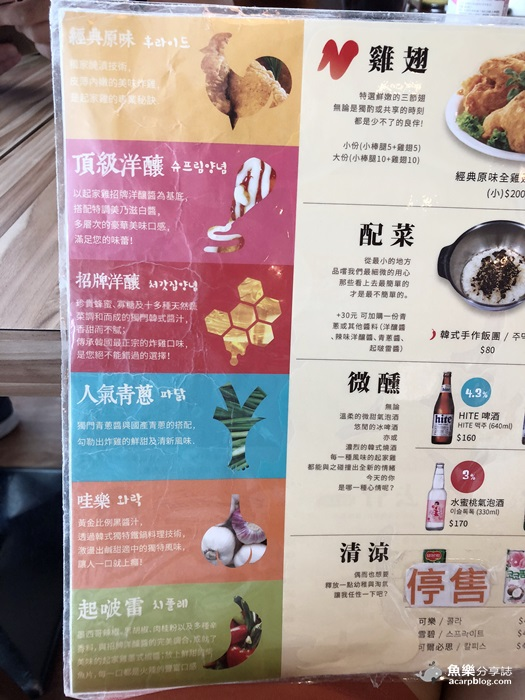 【台北松山】起家雞韓式炸雞|台北小巨蛋美食 @魚樂分享誌