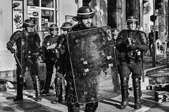 The look of love... (JM@MC) Tags: police marseille protest look regard