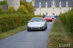 20181007 - Porsche 911 (997-1) Carrera S 355cv - N(2140) - CARS AND COFFEE CENTRE - Chateau de Longue Plaine (laurent lhermet) Tags: carreras carrera chateaudelongueplaine domainedelongueplaine nikkor18105 nikond5500 porsche911carrera porsche porsche911 porsche9971 nikon