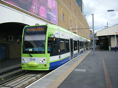 Croydon tram No. 2548 (johnzebedee) Tags: tram transport publictransport croydon surrey croydontramlink johnzebedee tfl bombardier