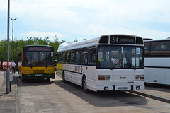 Cumberland 20779 K779DAO & Leyland National REV01 WHH556S (Will Swain) Tags: lillyhall depot open day 26th may 2018 bus buses transport travel uk britain vehicle vehicles county country england english north west stagecoach group leyland national rev01 whh556s williamsdigitalcamerapics101 cumberland 20779 k779dao