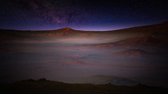 A Evening on Syrtis Major, Mars (Kevin M. Gill) Tags: mars syrtismajor evening nighttime hirise computergraphics cgi science astronomy space