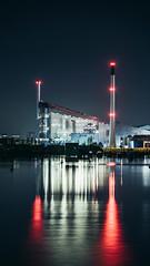 Amager Bakke (JamieDieu) Tags: nightphotography night nikon long exposure blue industry power plant