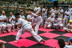 2018-9-8 Grupo Ondas capoeira batizado, graduation at WaterFire (Photograph by Tom Backman)