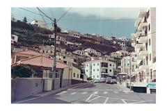 Funchal (AStomatin) Tags: analog film canon canonet kodak vision cino kino travel trip portugal road building car sky city