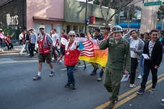 Salute from veteran Jack Ford (American Red Cross of Silicon Valley) Tags: veteransdayparade siliconvalleychapter americanredcross sanjose oleksiinazaruk