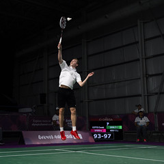 Team GB at the 2018 Youth Olympic Games in Buenos Aires (camerajabber) Tags: youth olympics games olympicgames buenosaires argentina 2018 andyjryan teamgb greatbritain unitedkingdom panasonic lumix g9 badminton chris grimley