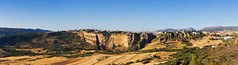 Andalucia - Ronda (Panorama) (FH | Photography) Tags: spain spanien andalusien andalucia europapanorama pano tag landschaft wahrzeichen sehenswürdigkeit stadt tourismus weite freiheit malaga wolkenlos sommer heiss horizont berge tal natur