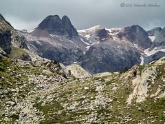 Pastos de altura (Edu.San.) Tags: naturaleza nubes roca rebaño ovejas pirineos
