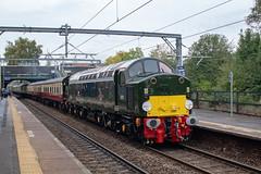 Locomotive Services 40013 (D213) (Mike McNiven) Tags: locomotiveservices loco locomotive eccles manchester crewe scarborough diesel railtour rail tour railway class40 40013 d213