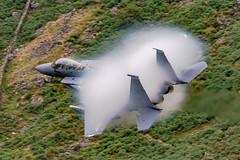 USAF F15E vapour (tectonic80) Tags: f15 airplane jet usaf strike eagle cloud mist vapour best f15e sonic knots aeroplane low lowfly mach machloop