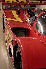 Porsche 962C, Musée des 24 Heures du Mans (Thibault Gaulain) Tags: le mans 24 hours heures h musée museum racing course car voiture auto sarthe france nikon d7200 porsche 962 momo red