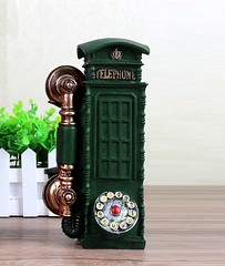 Telephone Booth Showpiece  Cum Piggy Bank (mywowstuff) Tags: gifts gift ideas gadgets geeky products men women family home office