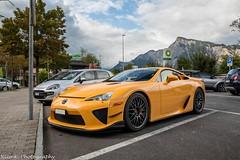 Nürburgring Edition (Nico K. Photography) Tags: lexus lfa nürburgring edition rare supercars orange 150 nicokphotography switzerland maienfeld