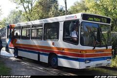 501 (32501) (northwest85) Tags: southdown stagecoach south stripes old livery j501 gcd 501 32501 alexander dash dennis dart bus j501gcd