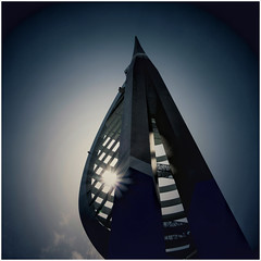 The Spinnaker... (zapperthesnapper) Tags: spinnakertower portsmouth tower modernarchitecture architecture