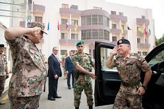 جلالة الملك عبدالله الثاني، القائد الأعلى للقوات المسلحة، يزور القيادة العامة للقوات المسلحة (Royal Hashemite Court) Tags: kingabdullahii thesupremecommanderofthejordanarmedforcesarabarmy jordan armed forces