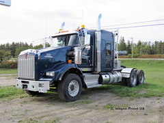 Kenworth T800 Heavy-Haul Tractor (Gerald (Wayne) Prout) Tags: kenwortht800heavyhaultractor kenworth t800 heavyhaul tractor timminskenworthltd riversidedrive mountjoytownship cityoftimmins northeasternontario northernontario ontario canada prout geraldwayneprout canon canonpowershotsx60hs powershot sx60 hs digital camera photographed photography display truck vehicle machine machinery haulage transport forestry logging construction loonstransport taykawatagamounation riverside drive mountjoy township timmins city northeastern northern trucking operator loonstransportandconstructionltd