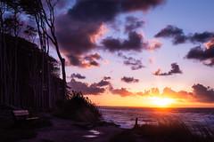 sundown at ghost wood (michael.weu) Tags: nature wood forest beach sun clouds sundown waves balticsea d7200 nikon