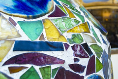 Pottery decoration at Casa Batlo (rubini.luca7) Tags: art gaudi barcelona spain europe casa batlo pottery decoration color