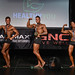 Classic Physique Novice 2nd Komes 1st Thompson 3rd Nguyen