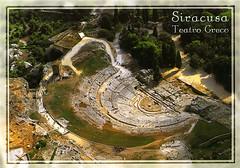 postcard - Syracuse, Italy 1 (Jassy-50) Tags: postcard syracuse sicily italy greektheater greek archaeology archeology ancient ruins unescoworldheritagesite unescoworldheritage unesco worldheritagesite worldheritage whs siracusa