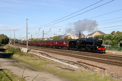 8F 48151 1Z82 dringhouses 29.09.2018 (Dan-Piercy) Tags: wcrc 8f 48151 dringhouses york 1z82 scarborough carnforth theluneriverstrustspecial charter ecml