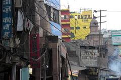 varanasi chaos (1) (kexi) Tags: varanasi benares india asia chaos street signs wires text canon february 2017 instantfave hccity