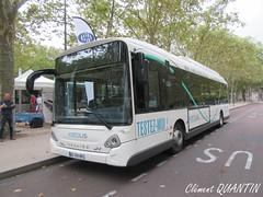 HEULIEZ BUS GX 337 Elec - Heuliez Bus (Clément Quantin) Tags: bus autobus standard electrique heuliez heuliezbus gx 337 elec gx337 gx337elec eg701bp test essai groupe keolis bordeaux métropole kbm keolisbordeauxmétropole groupekeolis tbm transports transportsbordeauxmétropole