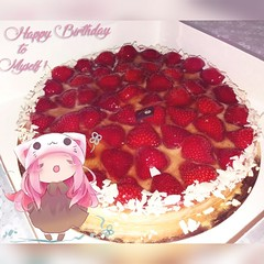 10.10 🍰 (lLipsya) Tags: 1010 october birthday fraise strawberry fresa pastel cake yummy llipsya