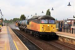 COLAS Rail 56094 - Mansfield (the mother '66' 66001) Tags: class56 colasrail colas 56090 56094 mansfield toton 6j89 rhtt robinhoodline rail railways nottinghamshire