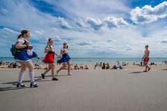 Oktoberfest on the Beach (SemiXposed) Tags: melbourne st kilda oktoberfest victoria girls people sky summer is coming