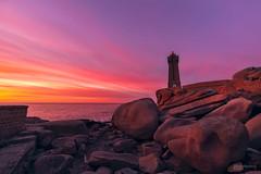 Ploumanac'h lighthouse. La costa de granito rosa. Bretaña (Fernando Guerra Velasco) Tags: ploumanc´h lighthouse breizh bretaña sunset atardecer granito