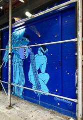Graecian by Finley (wiredforlego) Tags: graffiti mural streetart urbanart aerosolart publicart bowery manhattan newyork nyc finley blue