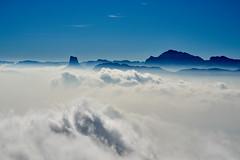 Mont Aiguille (prakharamba) Tags: mont aiguille montaiguille needle mountain montagne cloud grenoble vercors sky blue nikon d750