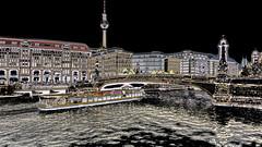 Germany - Berlin - River Spree - Friedrichs Bridge - 1ee (asienman) Tags: germany berlin riverspree friedrichsbridge asienmanphotography asienmanphotoart