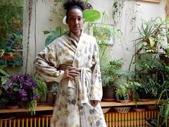 Kimono ecoprint