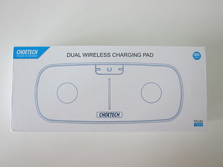 Choetech USB-C Dual 5W Wireless Charging Pad