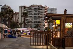 Marley Walk (r.hayvar) Tags: negocio tienda store shop mar sea beach playa coast costa building edificio paseo walk house casa atarcecer sunset