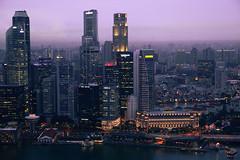 Singapur Skyline (2) (Obachi) Tags: singapur marinabay skyline flickr singapore