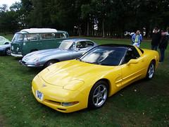 Drive-in Classics - Warren Classic & Supercar Show - Woodham Walter - 230918 / GSCF8109 (ColeTrickle#46) Tags: 2018 chevroletcorvette jaguaretype vwcamper