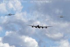 6271 BBMF fighters break (photozone72) Tags: aviation airshows aircraft airshow canon canon7dmk2 canon100400f4556lii 7dmk2 warbirds wwii raf bbmf lancaster rafbbmf spitfire hurricane pz865 mk356 duxford iwmduxford