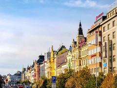 WENCESLAS SQUARE (PHOTOGRAPHY|bydamanti) Tags: prague czechrepublic cz wenceslassquare iphonex europe colorfulbuildings