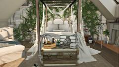 #36- Bed & Breakfast (Rhea's Rooms) Tags: secondlife sl interiors cheekypea granola theloft applefall ionic floorplan acorn hive