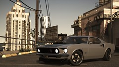 Boss 429 | GTA V (Stellasin) Tags: angeles game gaming dark darkness car cars water camaro beauty beautiful blur buildings city clouds centenario downtown engine weather reflection ford flare graphics gta gtav grass hot highway photography chevrolet night sky los lambo lamborghini california mods mountains motion mustang overcast road fog rain screenshot sun sunrise sunset street trees v z28