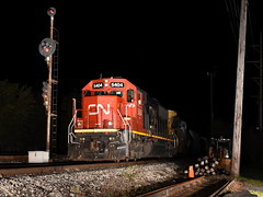 Doomed History (Robby Gragg) Tags: cn sd60 5404 broadview