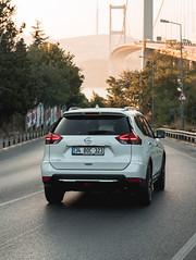Morning View (WeekendPlayer) Tags: road car tree bridge sun morning morningsun sunlight light city vehicle nissan xtrail istanbul tr turkey
