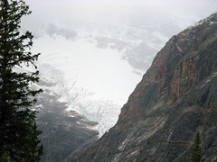 Angel glacier, Mount Edith Cavell (januszsl) Tags: glacier gletscher lodowiec ice eis glace lod goryskaliste rockymountains canadianrockies montagnesrocheuses mountain mountains gora berg montagne montaña montagna rocheusescanadiennes america ameryka amérique canada kanada alberta jasper national park narodowy parc mountedithcavell moun tedith cavell jaspernationalpark