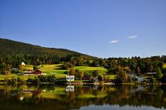 Reflections (charlottehbest) Tags: charlottehbest 2017 september norway scandinavia honeymoon travel theadventuresofhenryjruffington roadtrip nikon nikond5000 lake