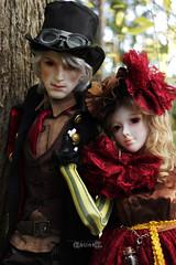 Jared and Sonya (BblinkK) Tags: mirodoll sd sally jared 13 bjd doll